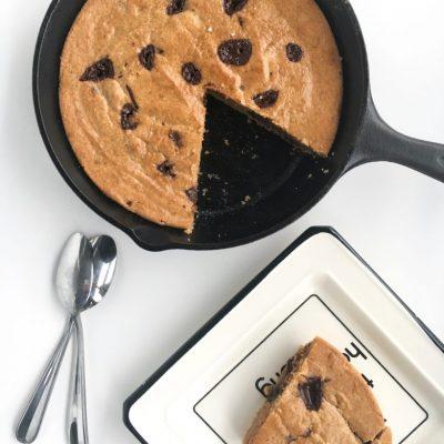 Cashew Cookie Skillet