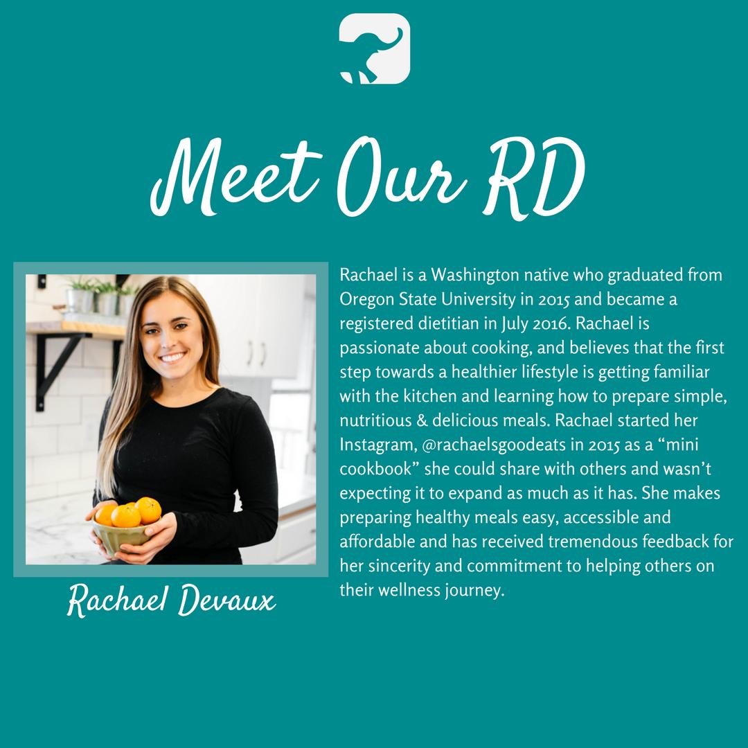 Meet Crazy Richard's Registered Dietitian