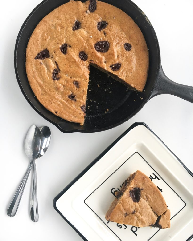 Cashew Cookie Skillet