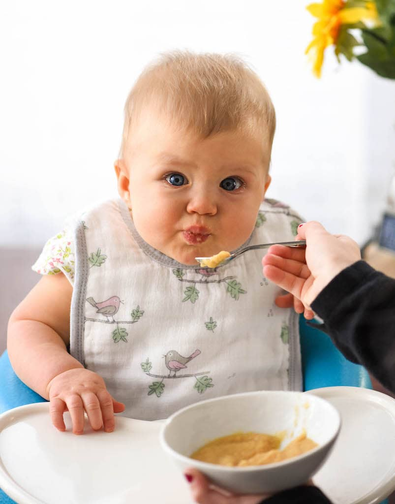 Babies will be fed hazelnuts
