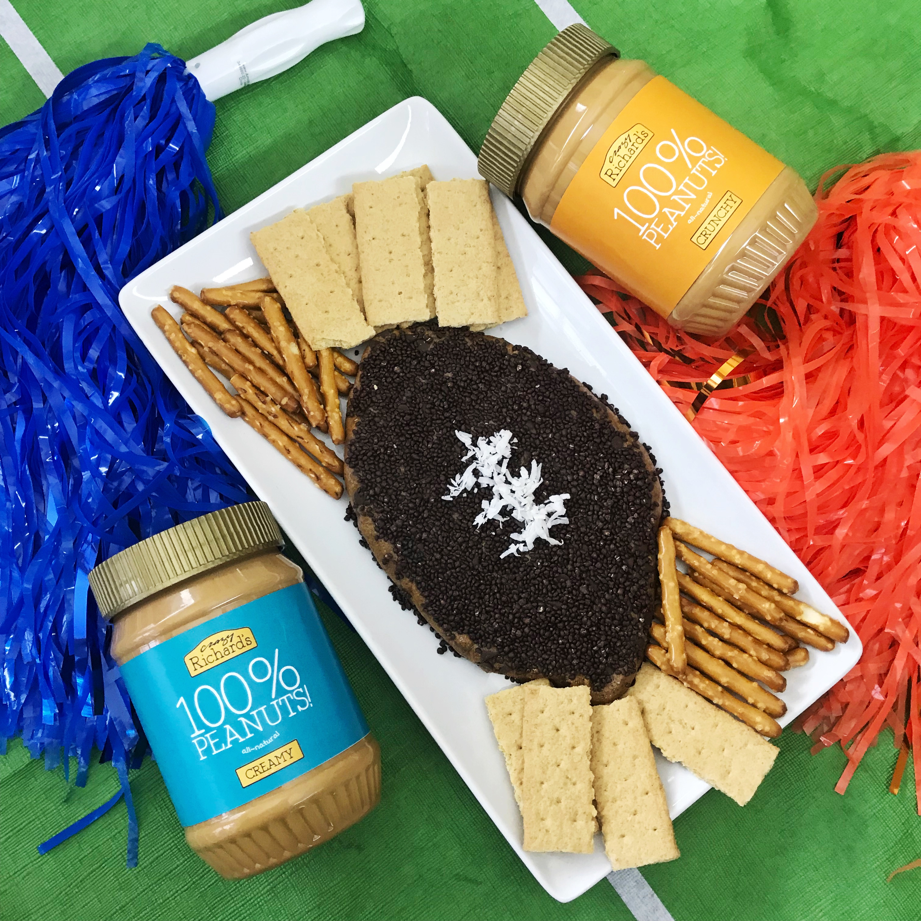 Super Bowl PB Cookie Dough Dip