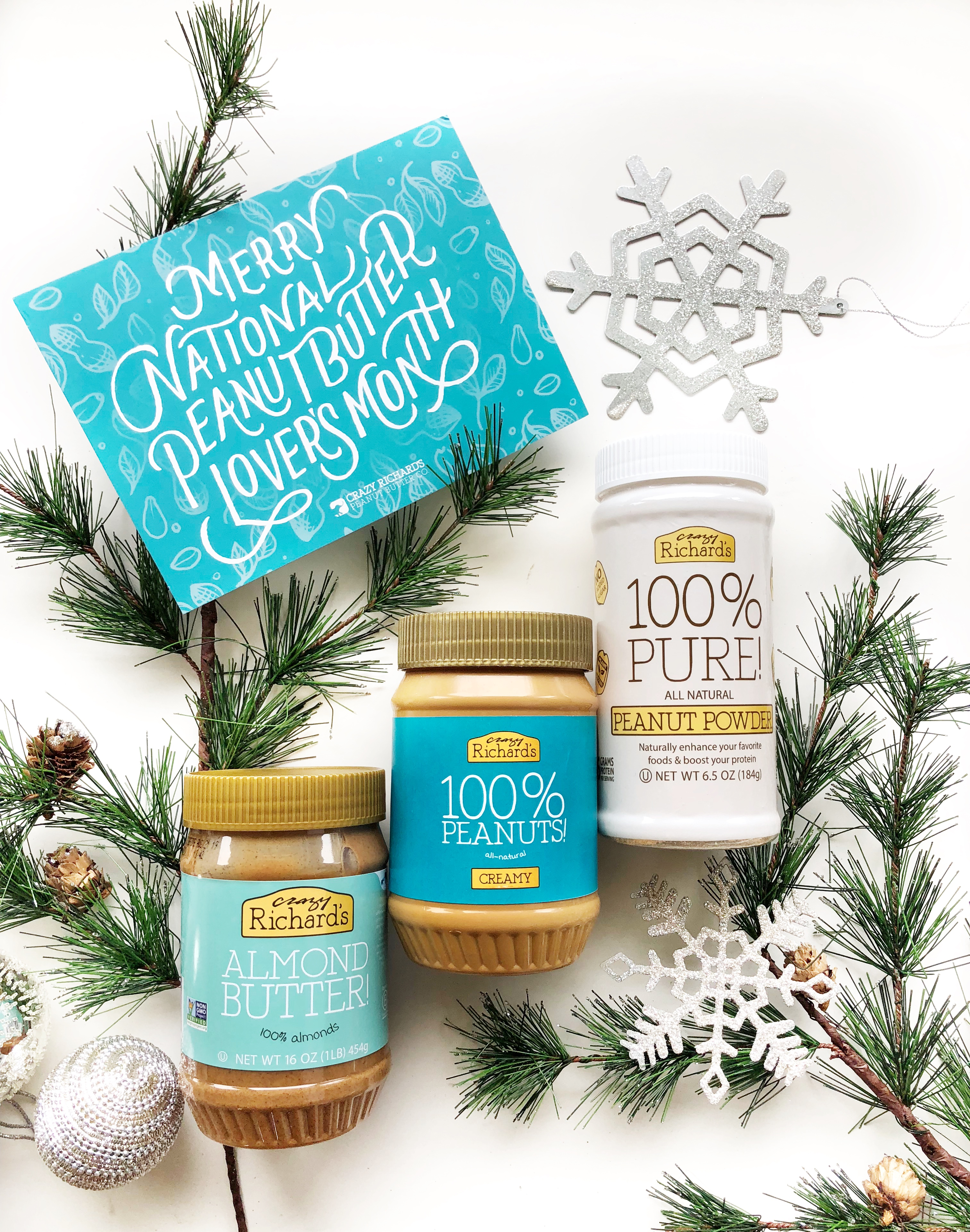 Holiday Gift Basket Special | Crazy Richard\'s Peanut Butter Company