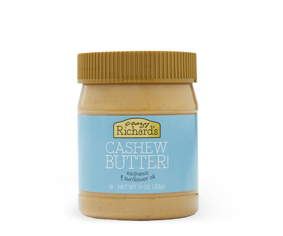 Natural Nut Butter Products | Crazy Richard's
